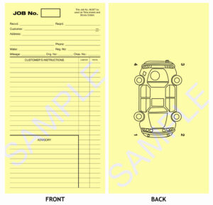 Workshop Job Sheet Template Card Pdf Automotive Download inside Mechanic Job Card Template
