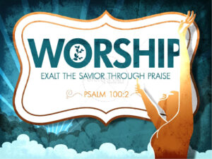Worship Powerpoint Church Template | Powerpoint Sermons In Praise And Worship Powerpoint Templates