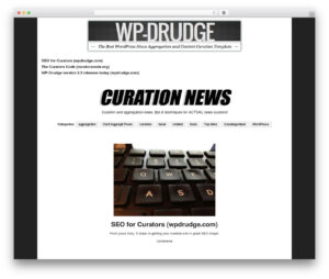 Wp-Drudge WordPress Themeproper Web Development – Demo intended for Drudge Report Template