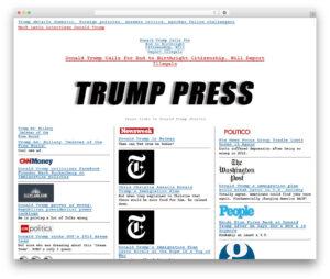 Wp Template Wp-Drudgeproper Web Development – Trump.press regarding Drudge Report Template