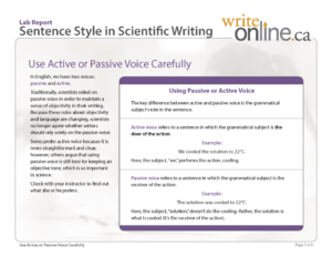 Write Online: Lab Report Writing Guide – Resources inside Section 37 Report Template