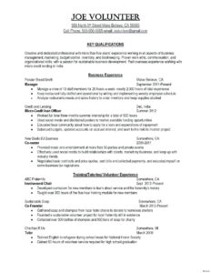 Writing Business Reports Template – Wepage.co Inside Volunteer Report Template