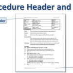 Writing Standard Operating Procedures (Writing Sop) | Bizmanualz Within Free Standard Operating Procedure Template Word 2010