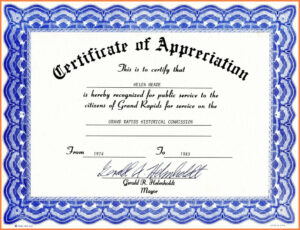 Years Of Service Certificate Template Word throughout Swimming Certificate Templates Free