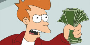 "You Can Own A Futurama ""Shut Up And Take My Money!"" Credit with regard to Shut Up And Take My Money Card Template"