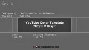 Youtube Banner Template Size throughout Youtube Banner Template Size