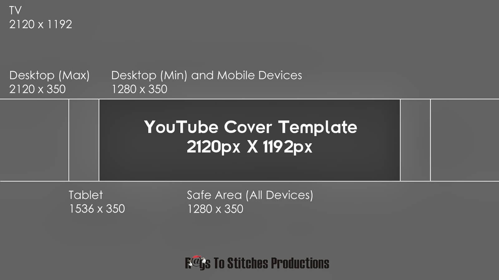 Youtube Banner Template Size With Regard To Youtube Banner Size Template