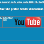 Youtube Channel Header Dimensions ~ Headers & Backgrounds With Youtube Banner Size Template
