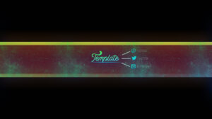 Yt Banner Template | Thanks For 100 Subs | Part (2/2) pertaining to Yt Banner Template