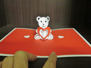 Yuenie's Fancies – Handmade Quilled Pop Up Cards, Bookmarks within Teddy Bear Pop Up Card Template Free