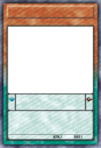 Yugioh Card Template | Theveliger within Yugioh Card Template