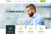 Bexer Bootstrap Business Template